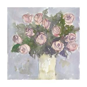 Watercolor Bouquet II by Samuel Dixon
