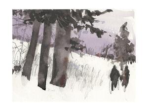 Woodland Sketch II by Samuel Dixon