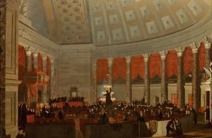 The House of Representatives, 1822-23 by Samuel F. B. Morse