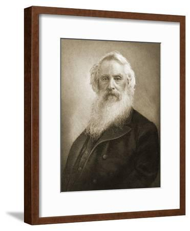 Samuel Fb Morse, Inventor of the Telegraph--Framed Giclee Print