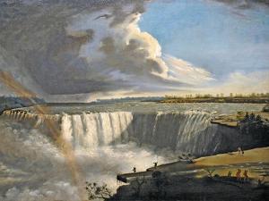 Niagara Falls from Table Rock, 1835 by Samuel Finley Breese Morse