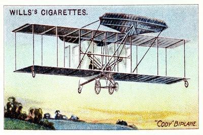 Samuel Franklin Cody , American-Born British Aviator, Flying Cody Biplane C1909--Giclee Print