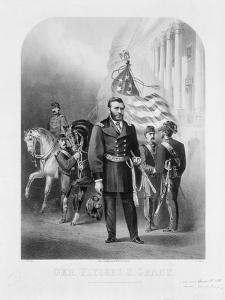 General Ulysses S. Grant at the U.S. Capitol, 1868 by Samuel Frizzell