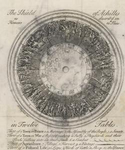 The Shield of Achilles in 12 Tables: 3 of a Town in Peace by Samuel Gribelin