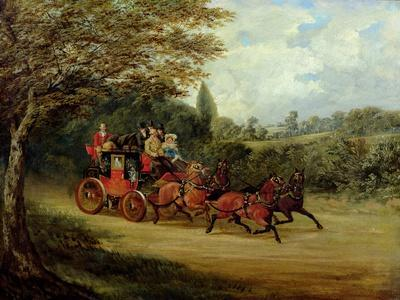 The Royal Mail Coach with Passengers