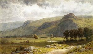 A View of Borrowdale, England by Samuel Henry Baker