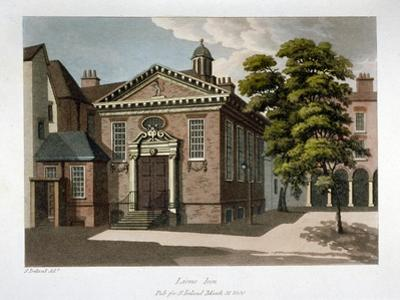 Lyon's Inn, Westminster, London, 1800 by Samuel Ireland