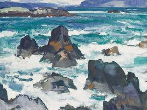 A Rough Day, Iona by Samuel John Peploe