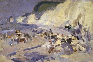 Berneval by Samuel John Peploe