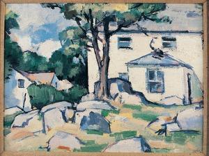 Landscape with House by Samuel John Peploe