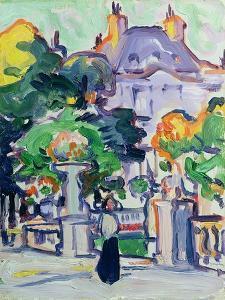 Luxembourg Gardens, c.1910 by Samuel John Peploe