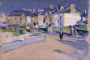North Berwick, 1905 by Samuel John Peploe