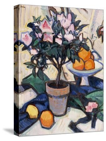 Pink Azalea and Oranges, C.1913