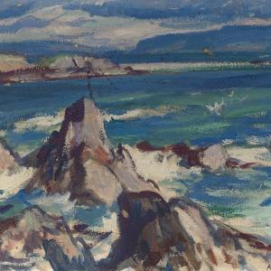 Rocks and Sea, Iona by Samuel John Peploe