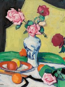 Roses, Early 1920S by Samuel John Peploe