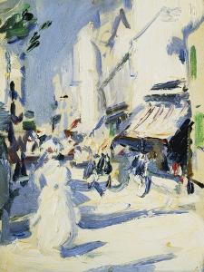 Street in Paris, c. 1907 by Samuel John Peploe