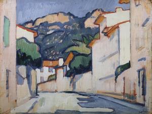 Street Scene, Cassis, C.1913 by Samuel John Peploe