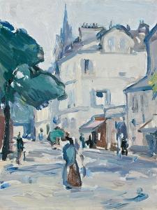 Street Scene, Paris by Samuel John Peploe
