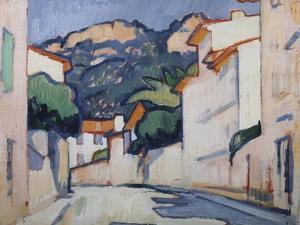 Streetscene, Cassis, c.1913 by Samuel John Peploe