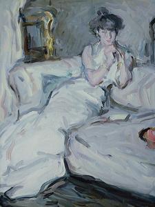 The Girl in White, 1909 by Samuel John Peploe