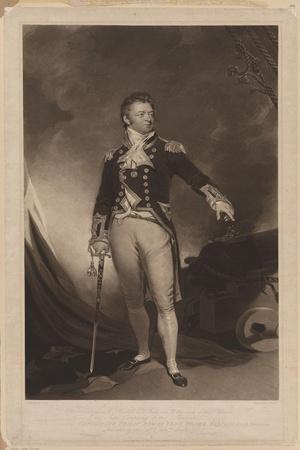 Sir Philip Bowes Vere Broke (1776-184), 1816