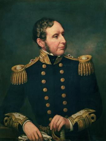 Vice Admiral Robert Fitzroy (1805-65) Admiral Fitzroy Led the Expedition to South America 1834-36