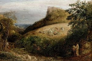 A Pastoral Scene, 19th Century by Samuel Palmer