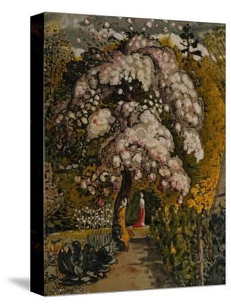 Apple Tree in Blossom In a Shoreham Garden, c.1830