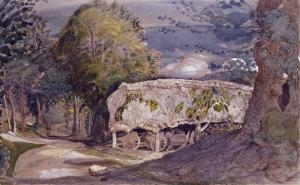 Barn at Shoreham by Samuel Palmer