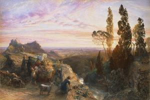 Dream in Apennines, Circa 1864 by Samuel Palmer