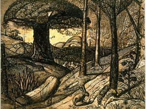 Early Morning, 1825 by Samuel Palmer