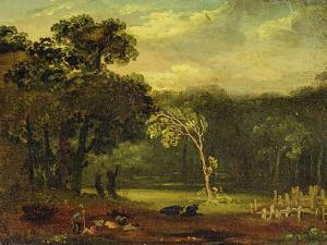 Sketch from Nature in Sion Park, 1819 by Samuel Palmer