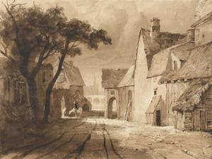 Study of Old Buildings by Samuel Palmer