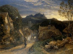 The Bellman by Samuel Palmer