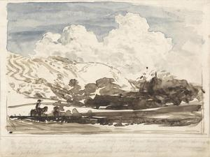 The Bright Cloud by Samuel Palmer