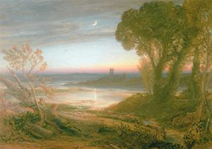 The Curfew by Samuel Palmer