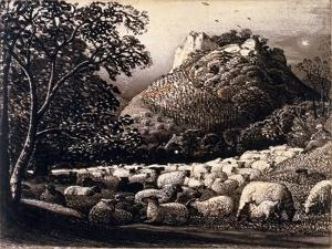 The Flock and the Star by Samuel Palmer