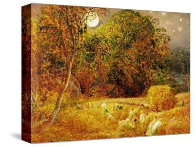 The Harvest Moon, 1833 (Oil on Paper Laid on Panel)