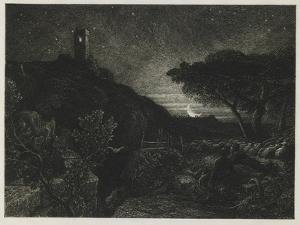 The Lonely Tower, 1879 by Samuel Palmer