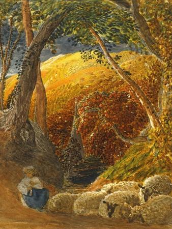 The Magic Apple Tree by Samuel Palmer
