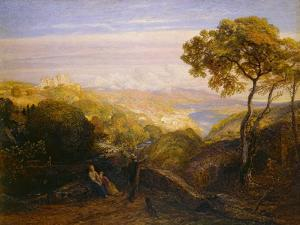 The Prospect, 1864-81 (Watercolour and Bodycolour with Gum Arabic, on London Board) by Samuel Palmer