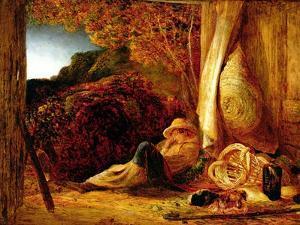 The Sleeping Shepherd, 1834 by Samuel Palmer