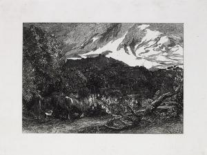 The Weary Ploughman, 1858 by Samuel Palmer