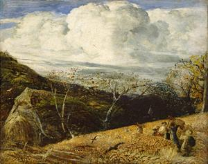 The White Cloud, C.1833-34 by Samuel Palmer