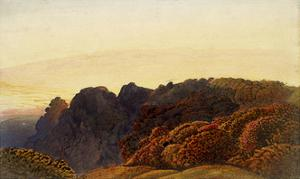 Yellow Twilight by Samuel Palmer