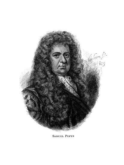 Samuel Pepys, English Diarist--Giclee Print