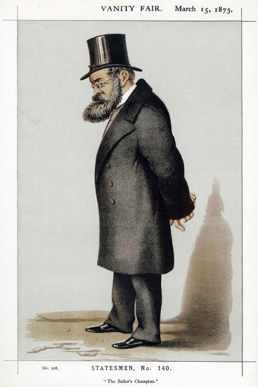 Samuel Plimsoll, British Social Reformer and Politician, 1873--Giclee Print