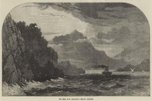 The Bear Rock, Maddalena Straits, Sardinia by Samuel Read