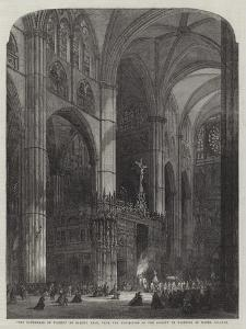 The Cathedral of Toledo, from the Exhibition of the Society of Painters in Water Colours by Samuel Read