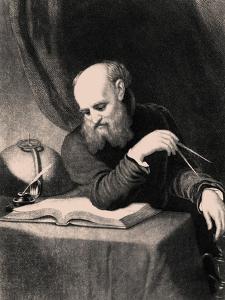 Galileo Galilei, 1852 by Samuel Sartain